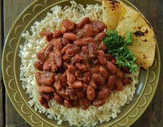 Latin American Style Red Beans and Rice