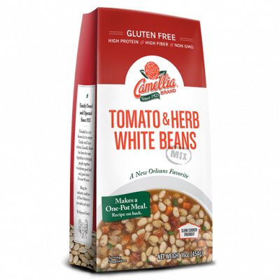Tomato & Herb White Beans Mix: Dinner & Soup Mixes :: Camellia Brand
