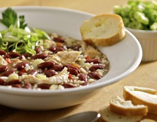 Slow-Cooker Creole Chicken and Red Bean Gumbo