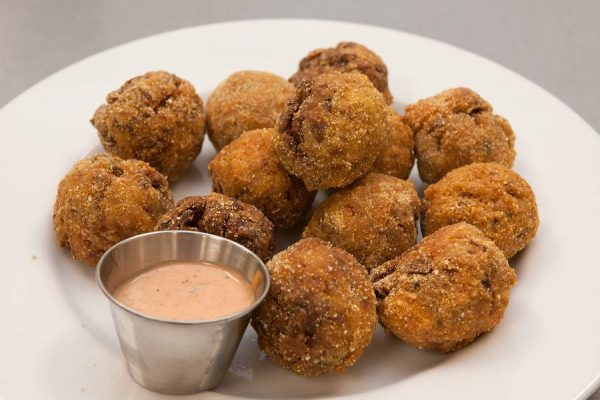 Red Beans and Rice Boudin Balls with Dipping Sauce :: Recipes ...