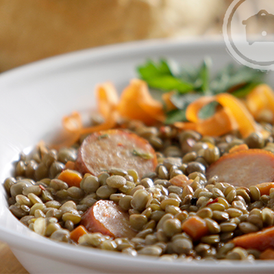 ... Spicy Lentil Soup and the slow cooker recipe for Spicy Lentil Soup