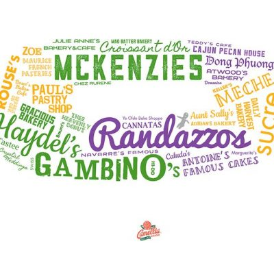 King Cake Word Cloud