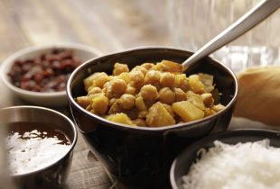 Caribbean-Style Chickpea Curry
