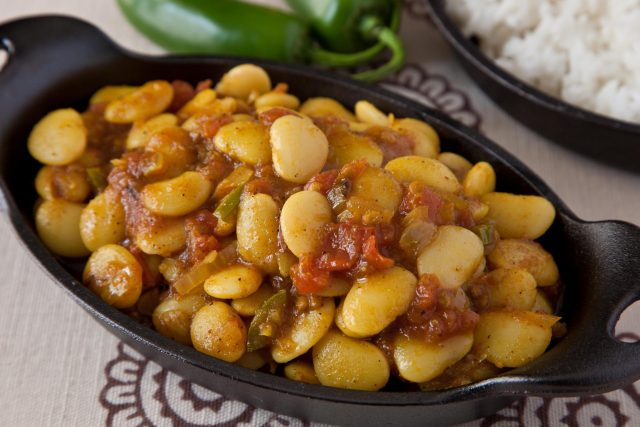 Curried Lima Beans