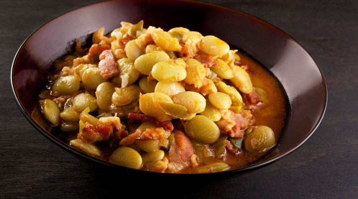 Slow Cooker Lima Beans and Ham