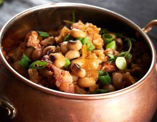 New Orleans-Style Blackeye Peas