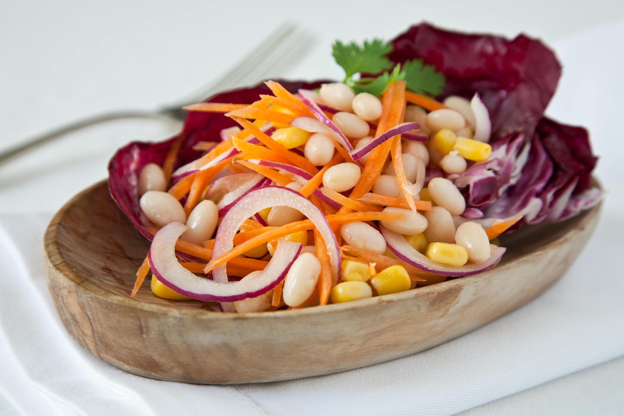 Corn and Navy Bean Salad
