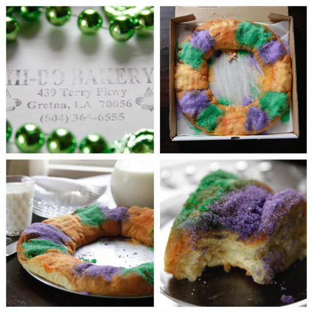 Hi Do King Cake Collage