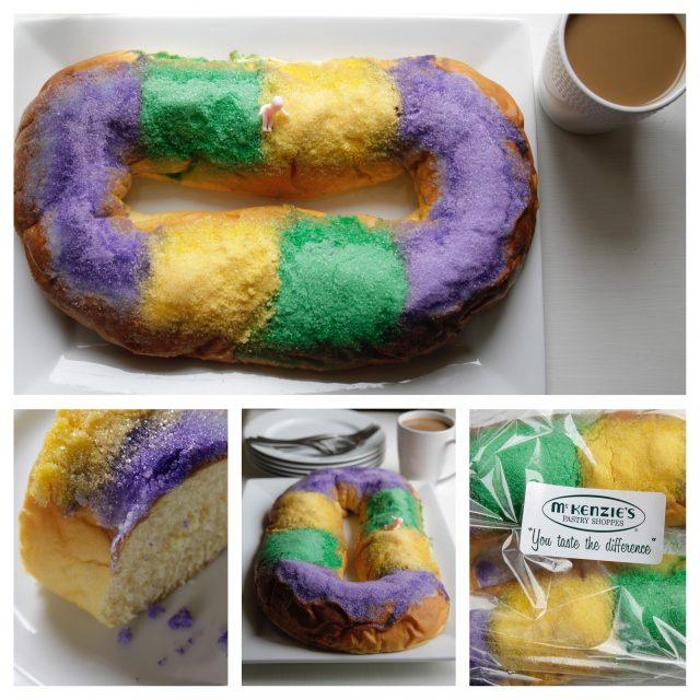 Mckenzies King Cake Collage