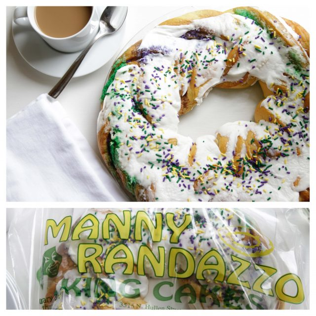 Randazzo King Cake Collage