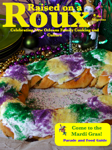 Raised on Roux Magazine Cover