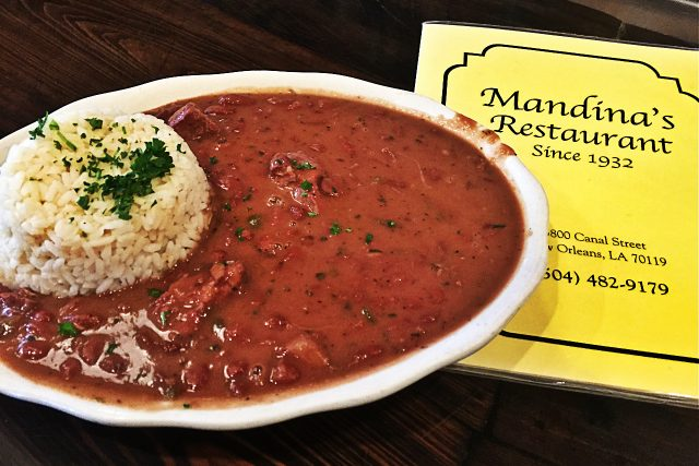 Mandina's Restaurant Red Beans