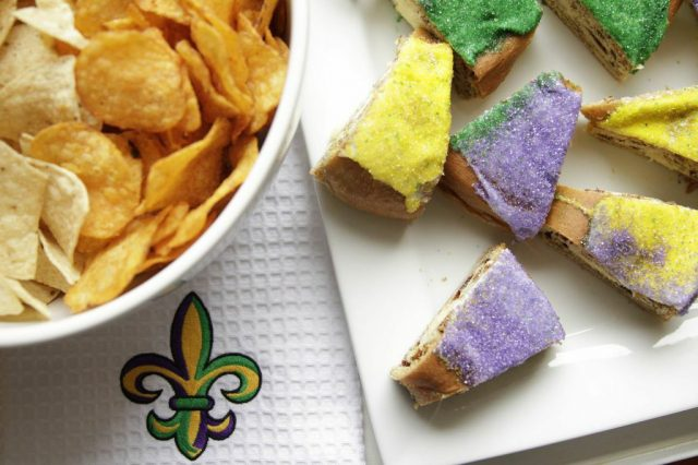King Cake & Chips: Mardi Gras Parade-Watching Menu