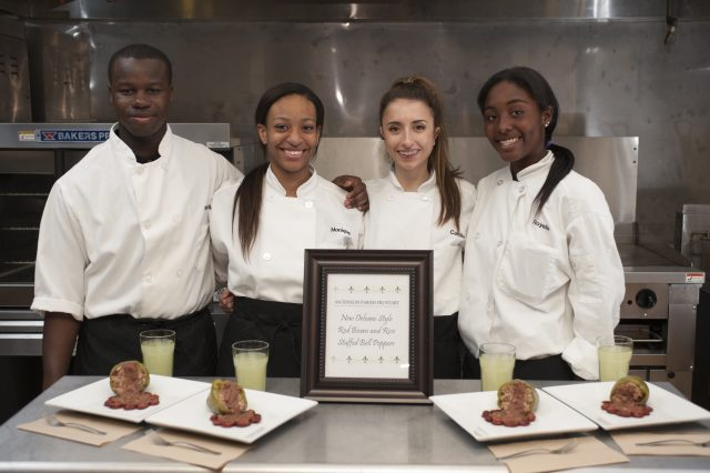 Ascension Parish ProStart School Team