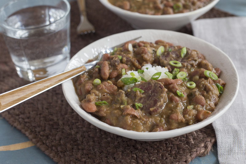 Red Beans & Rice Meal-Kit from PeachDish.com