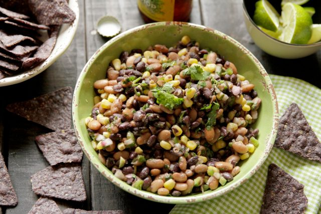 Fresh Two-Bean Salsa