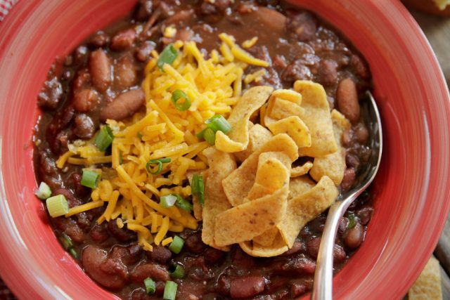All-Star Game Day Chili & Nachos :: Camellia Brand