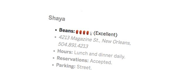 Gene Bourg Bean Rating