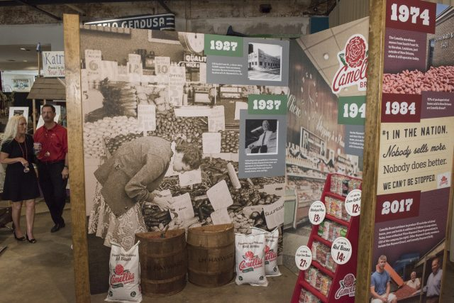 Camellia Red Bean City Exhibit- LH Hayward Company Timeline